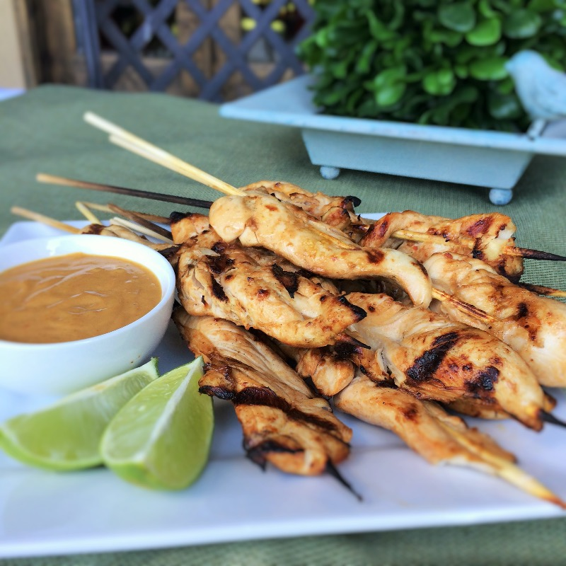 A9. Satay Chicken (4) Image