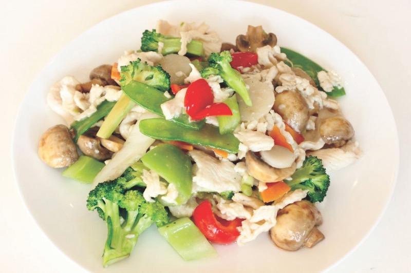 E15. Vegetable Delight Combo