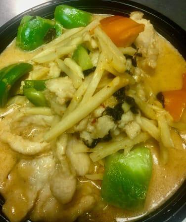 E19. Thai Yellow Curry Combo