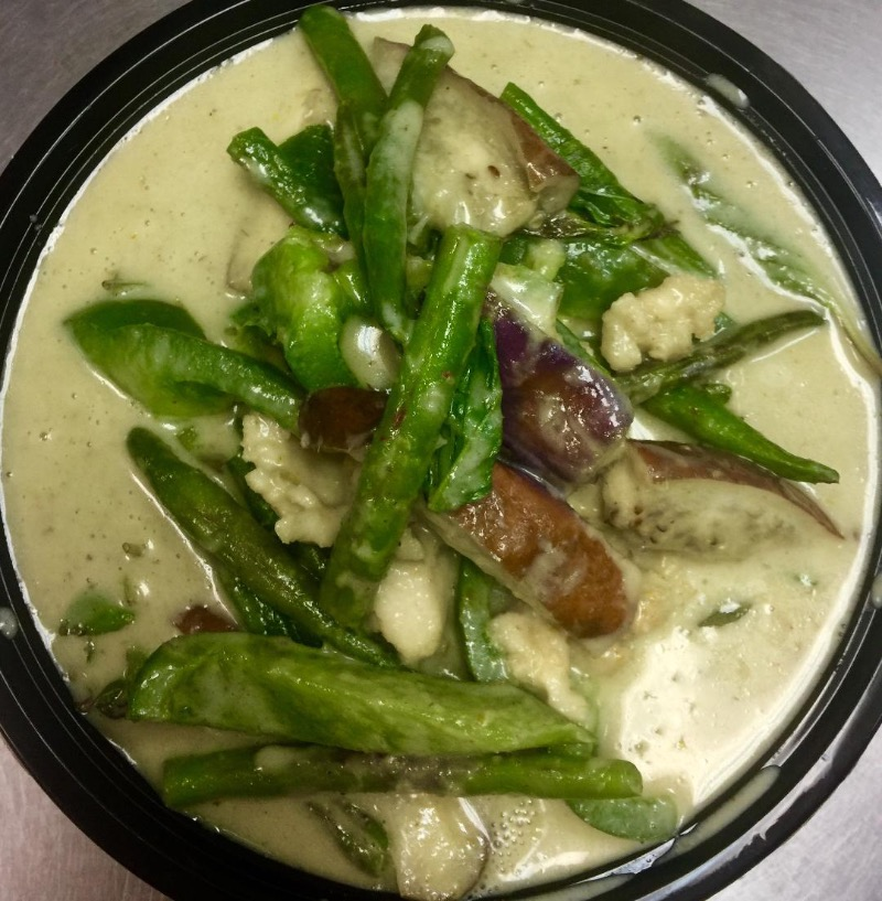 E20. Thai Green Curry Combo Image