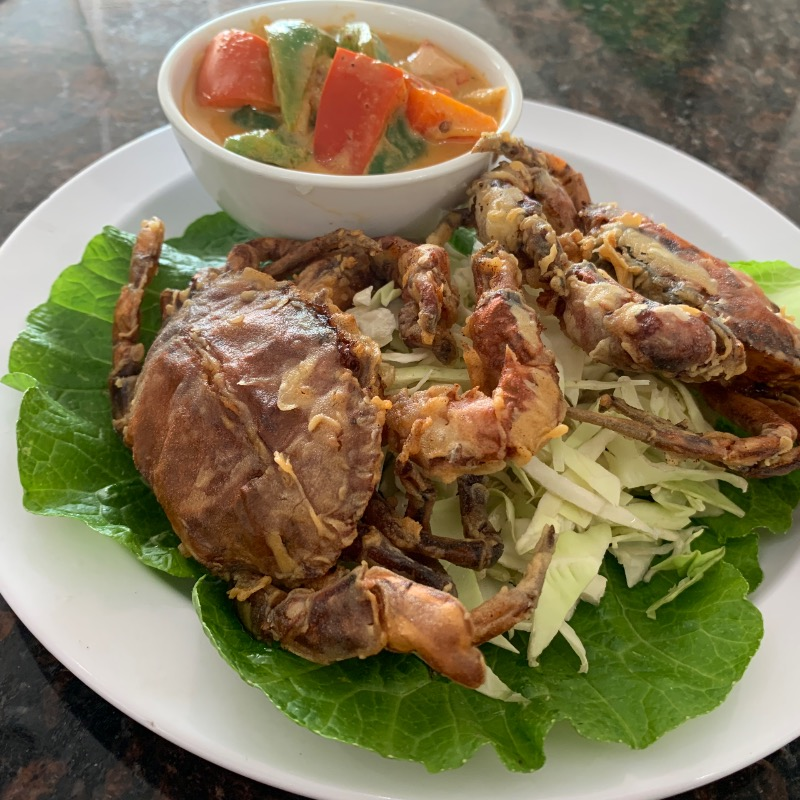 SP5. Fried Soft Shell Crab
