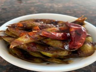A5. Spicy Garlic Honey Edamame