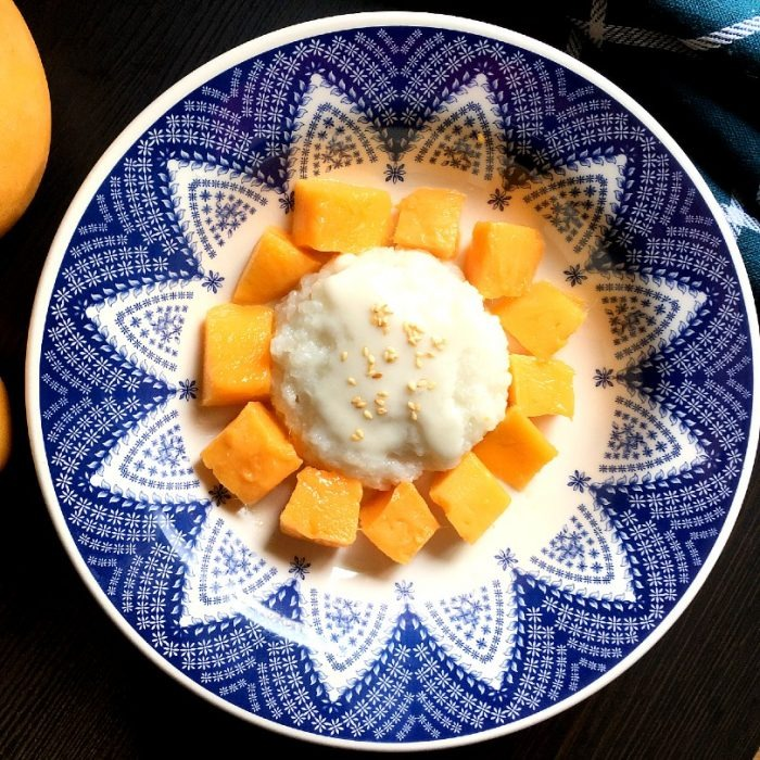 D2. Sweet Sticky Rice With Mango Image