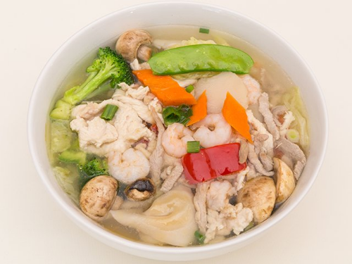 S4. Deluxe Wonton Soup Image
