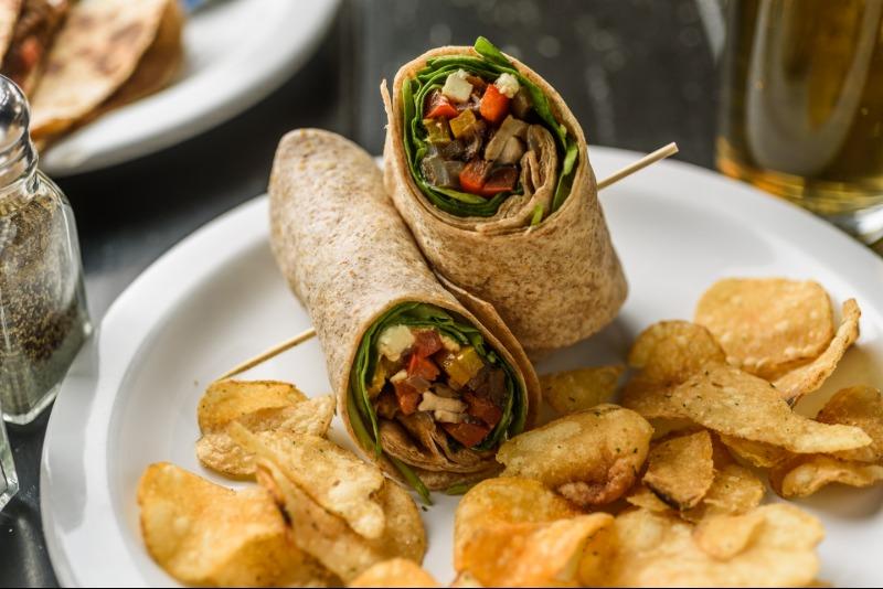 Vegetarian Wrap Image