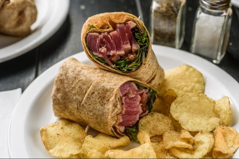 Tuna Caesar Wrap Image