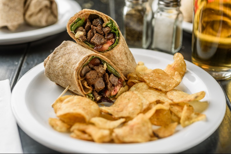 Steak Wrap Image