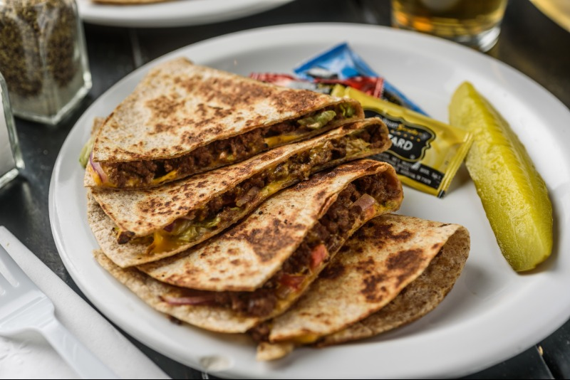 Legendary Burger Quesadillas Image
