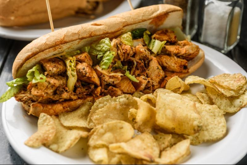 Buffalo Chicken Sandwich Image