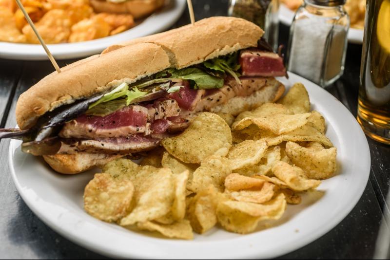 Tuna Sandwich Image
