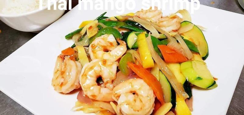 B4. Thai Mango Jumbo Shrimp Image