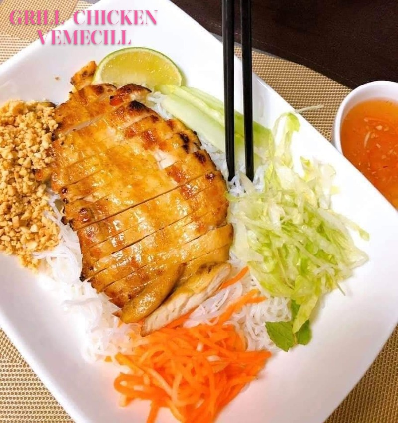 Grilled Chicken Vermicelli