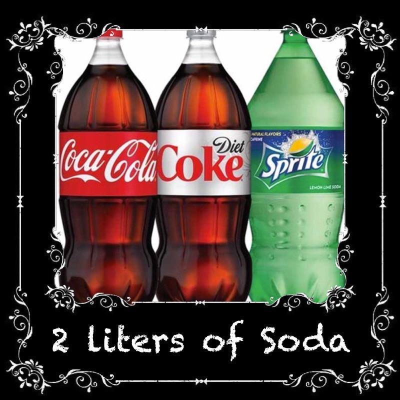 2 LITER SODA $2.99 Image