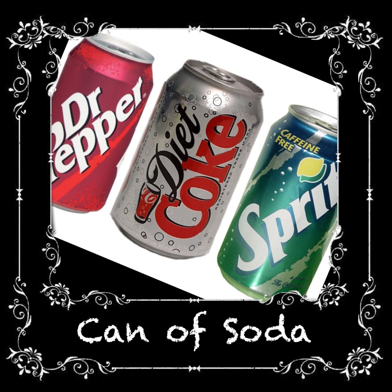 CANS OF SODA $1.25 Image