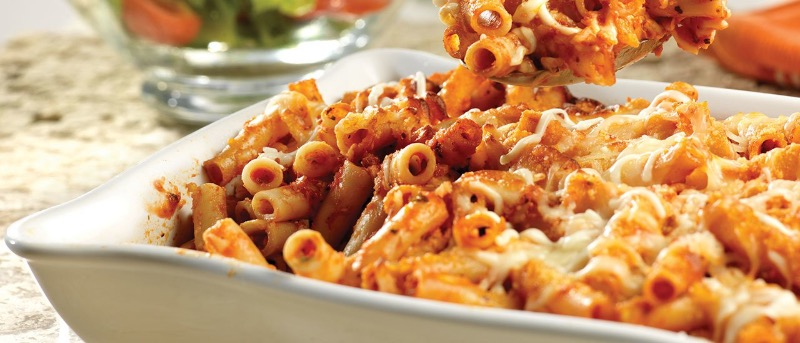 PENNE WITH Marinara and MEATBALLS