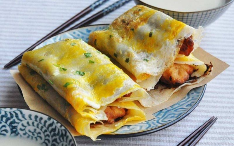 A16. Beijing Pancakes  煎饼果子