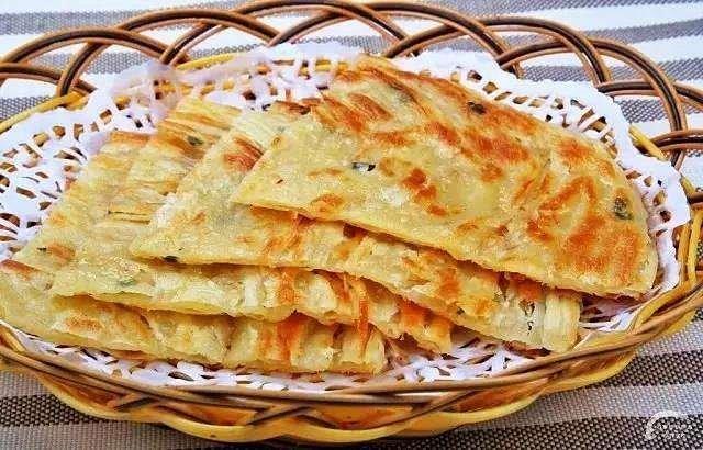 A15. Scallion Pancake  葱油饼