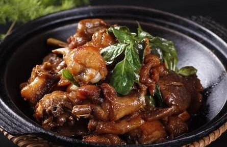Three Cups Chicken  三杯鸡 Image