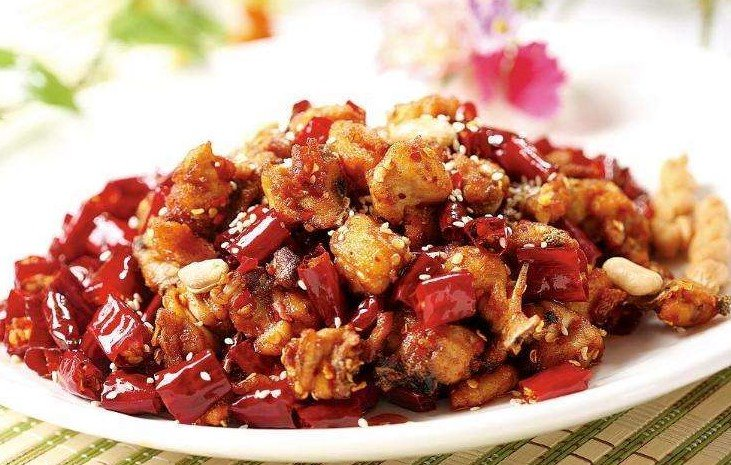 Szechuan Style Fried Chicken  川味辣子鸡 Image
