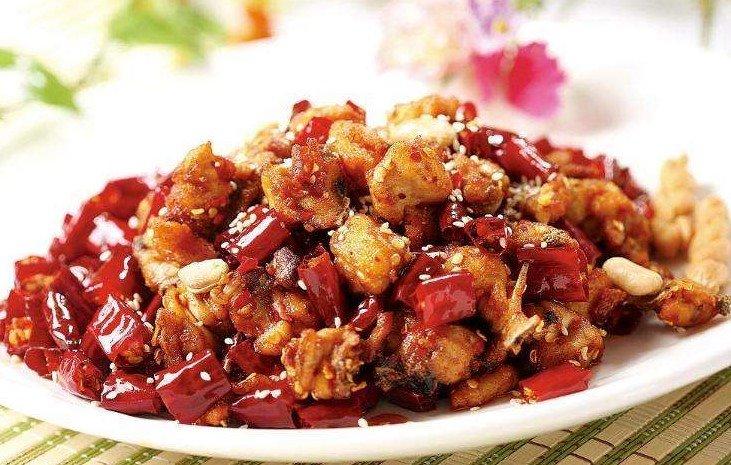 Szechuan Style Fried Chicken  川味辣子鸡 Image