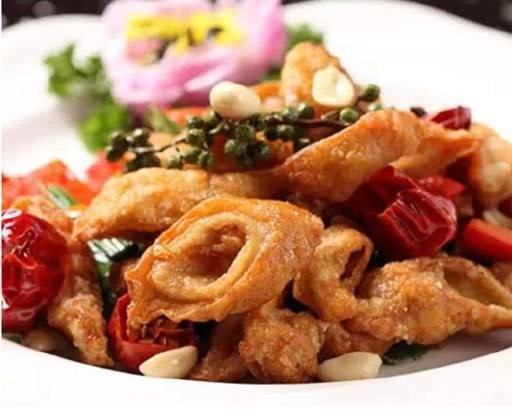 Deep Fried Pork Intestine  干煸肥肠 Image