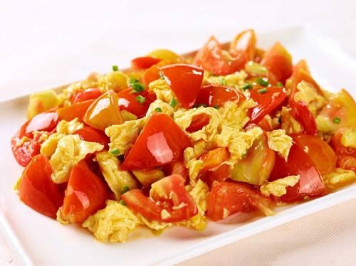 Stir-Fried Tomatoes and Egg  番茄炒鸡蛋 Image