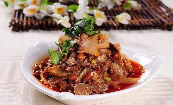 Braised Beef Tendon w. Hot Spicy Sauce  麻辣牛蹄筋 Image