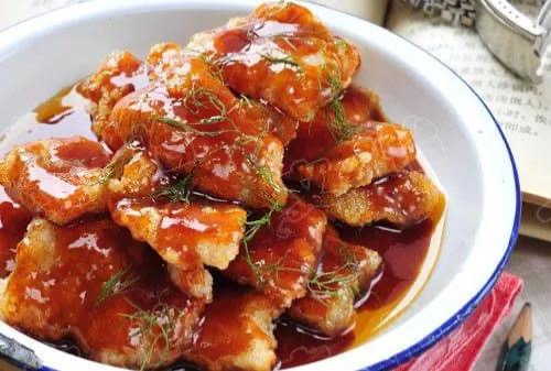 Sweet & Sour  Fish Fillet  泰式鱼片 Image