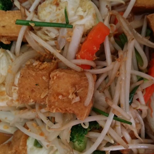 MIXED VEGETABLES WITH TOFU/SOY CHICKEN