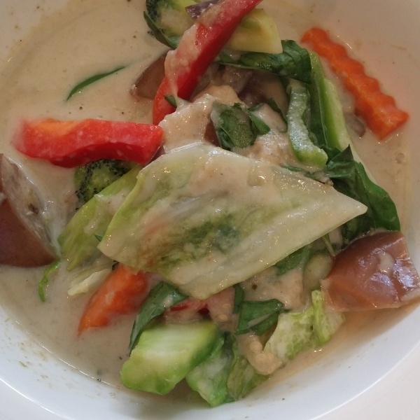 VEGETARIAN GREEN CURRY Image