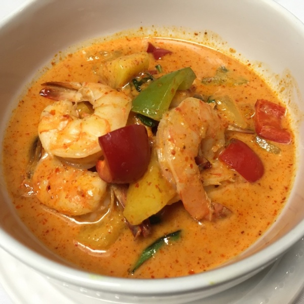 SHRIMP PINEAPPLE CURRY Image