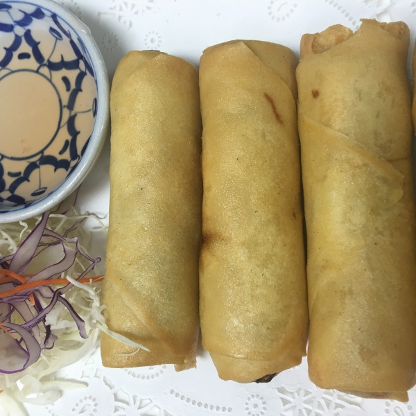 VEGETABLE SPRING ROLLS (4 PCS) Image