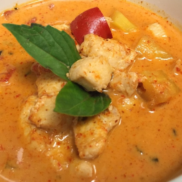 CHICKEN PINEAPPLE CURRY Image