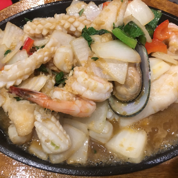 SIZZLING SEAFOOD (HOT PLATE)