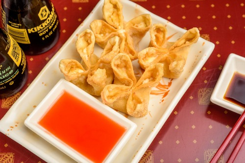 A 3. Crab Rangoon (4 pcs)