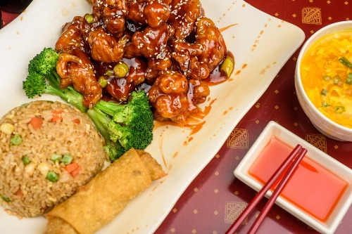C 3. Sesame Chicken Image