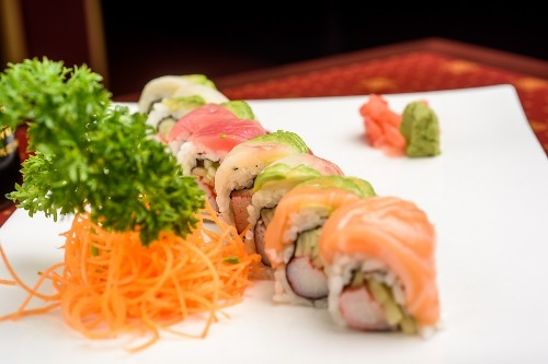 Rainbow Roll Image