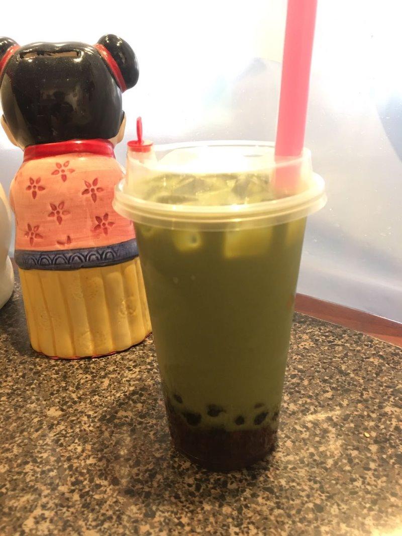 Green Tea Boba Image