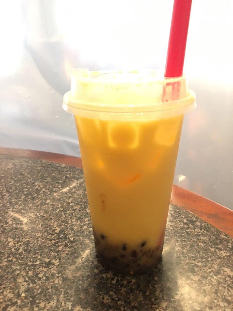 Mango Boba Tea Image
