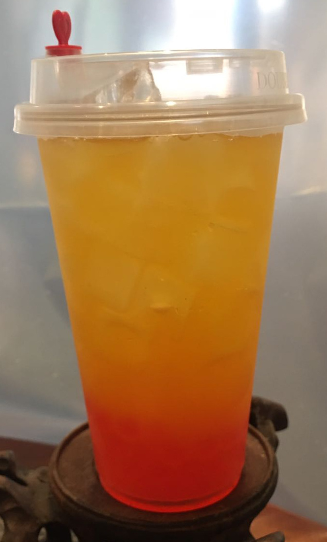 Green tea & fruit Image
