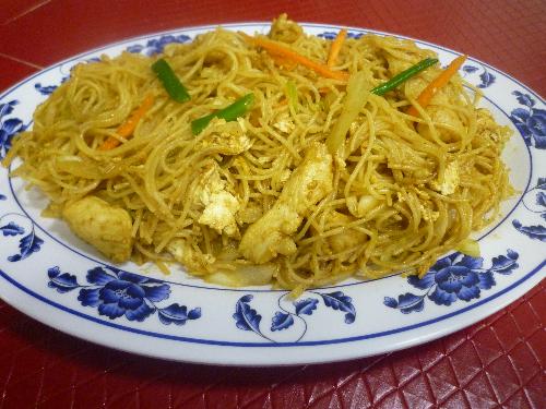 Singapore Pork Rice Noodle Image