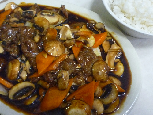 Mushroom Beef Image
