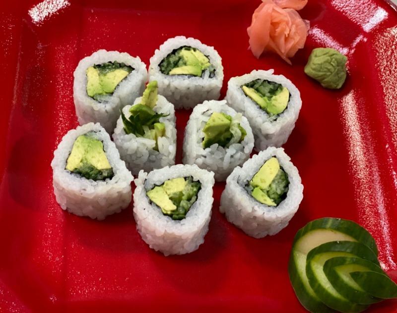 Avocado Cucumber Roll Image