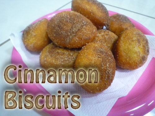 Cinnamon Biscuits (10) Image