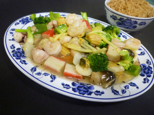 Seafood Deluxe Image