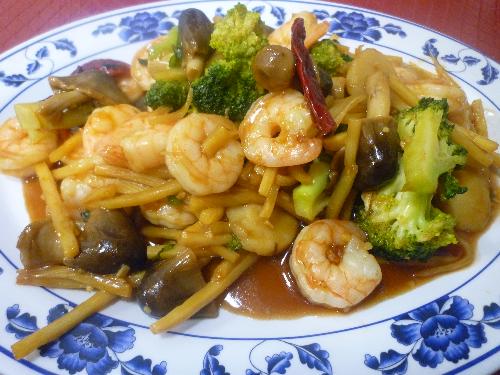 Shrimp with Garlic Sauce Image