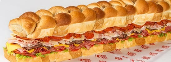 6 Foot Party Sandwich Image