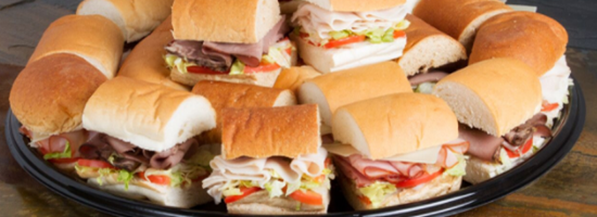 Party Sandwich Tray Image