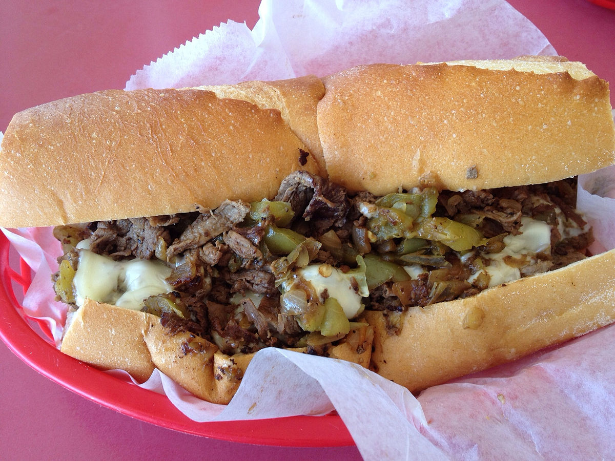 #13 Cheese Steak Hoagie