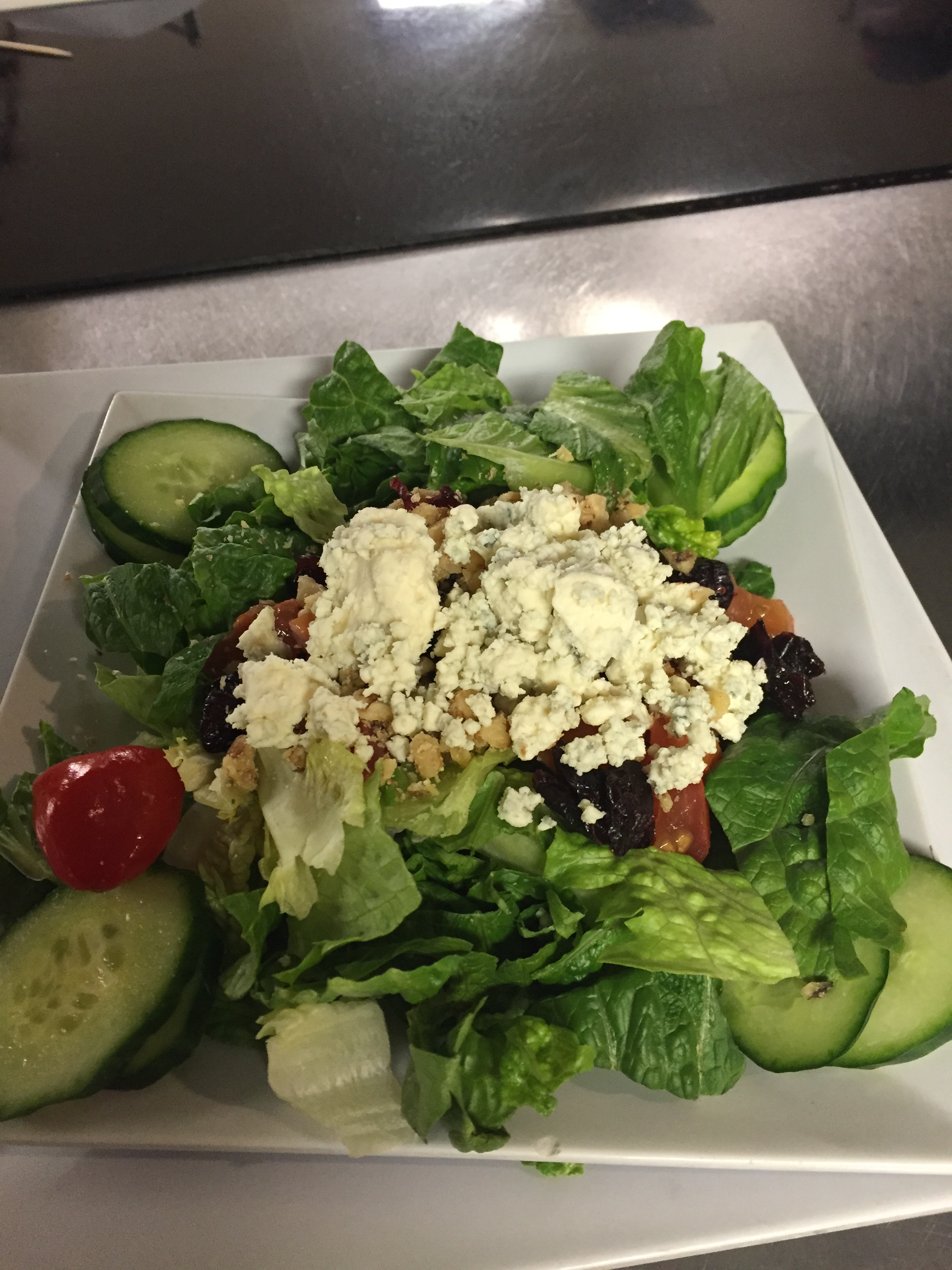 Raspberry & Walnut Salad Image